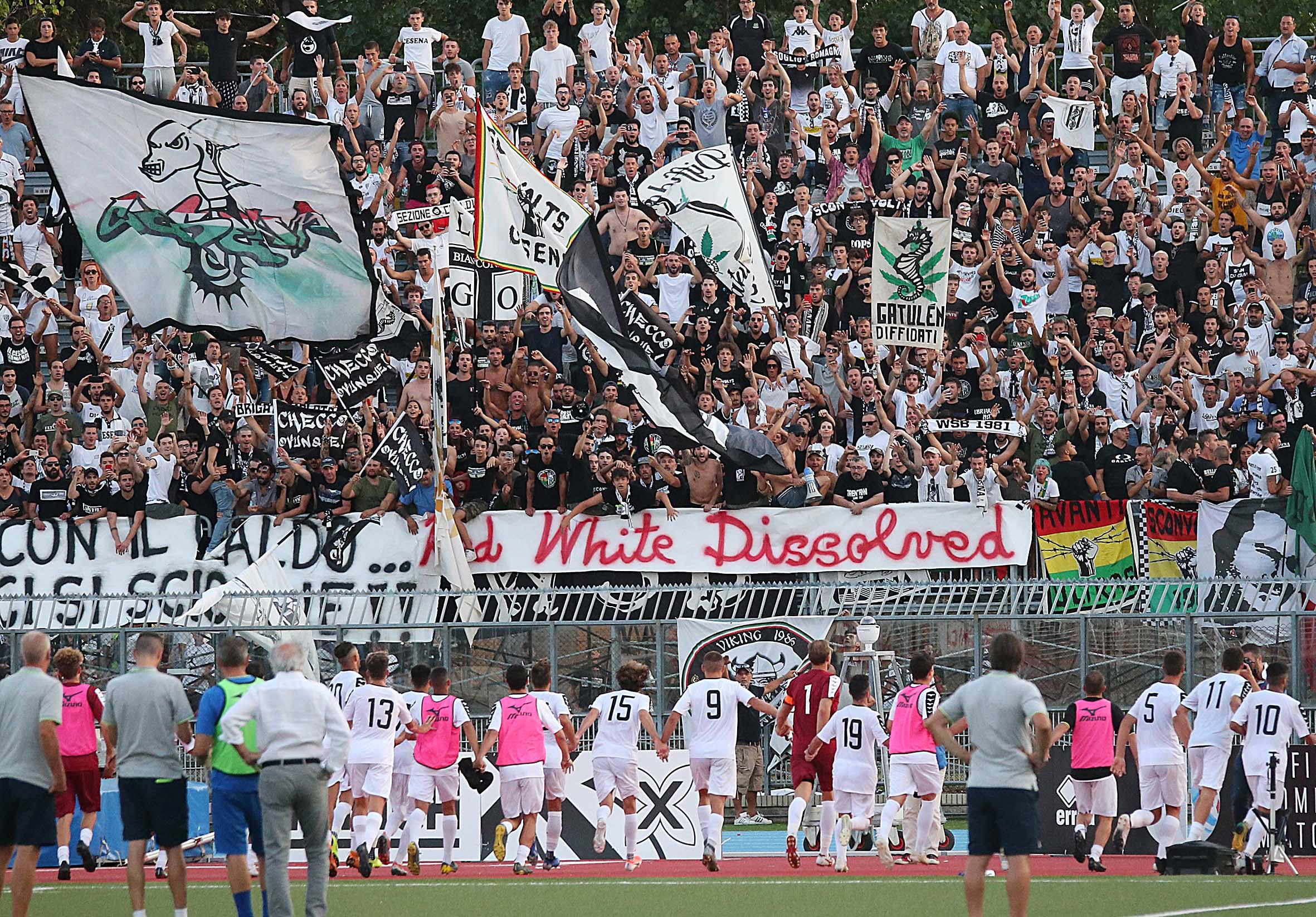 Calcio Serie C Girone B, Rimini-Cesena: settore ospiti sold out