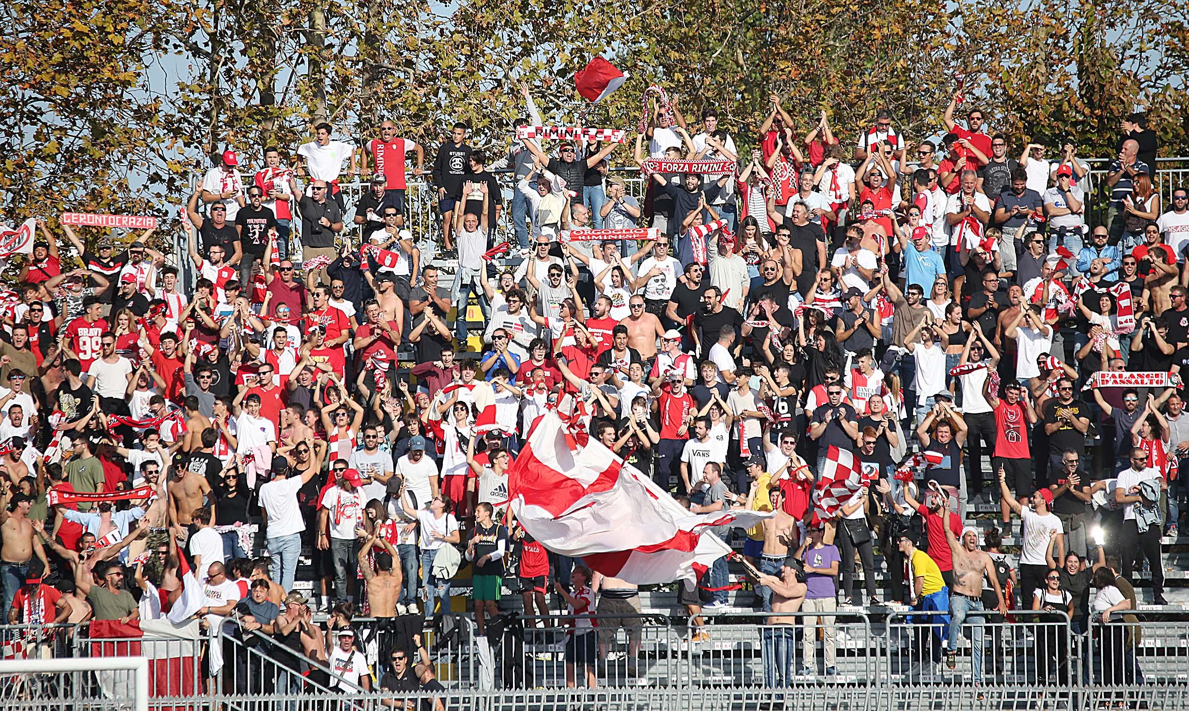 Calcio serie C, la prevendita per Reggio Audace-Rimini di mercoledì