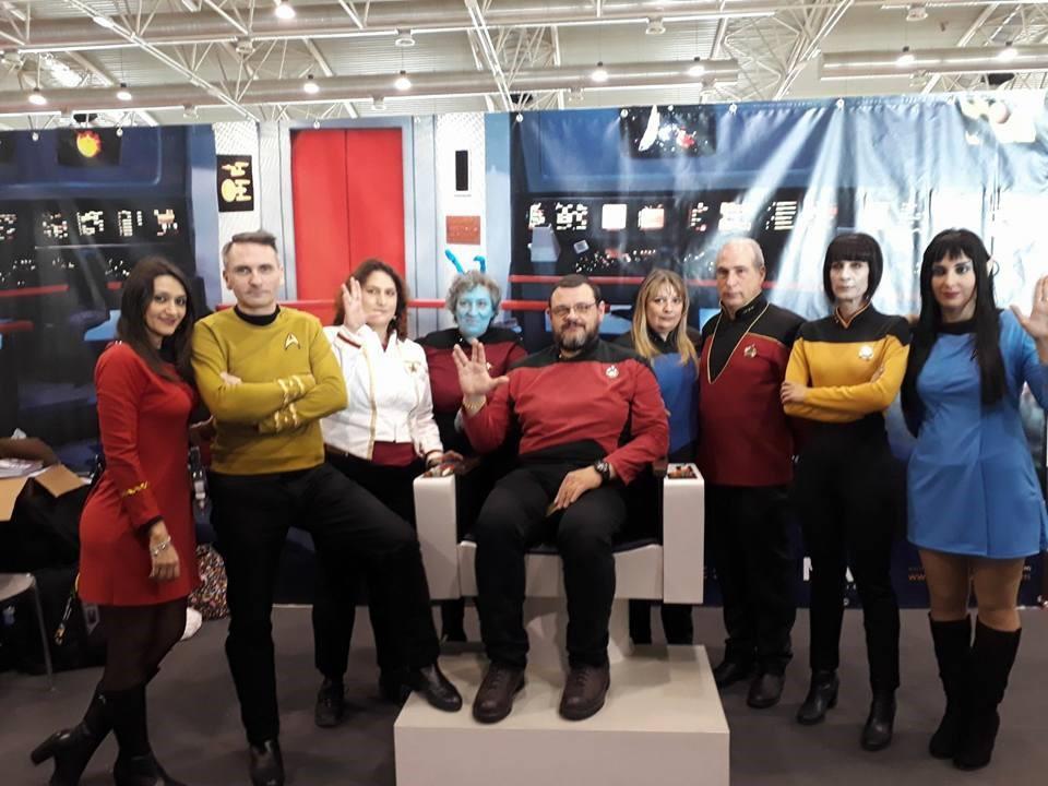 Il primo capitano di Star Trek alla Reunion di Riccione