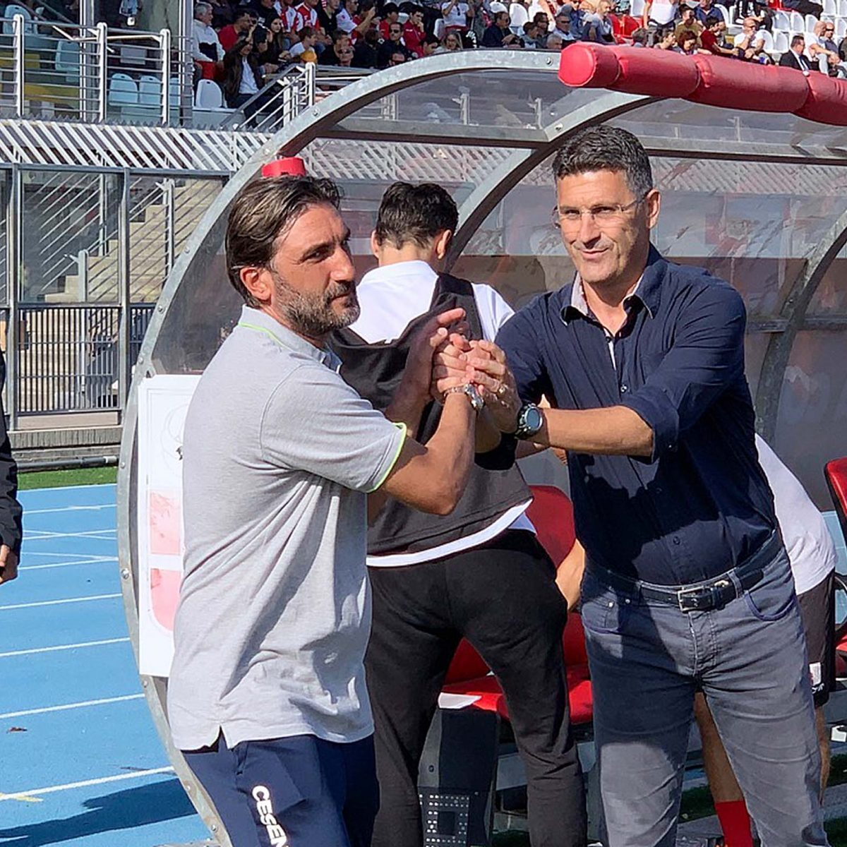 Calcio serie C, le emozioni di Rimini-Cesena - GALLERY