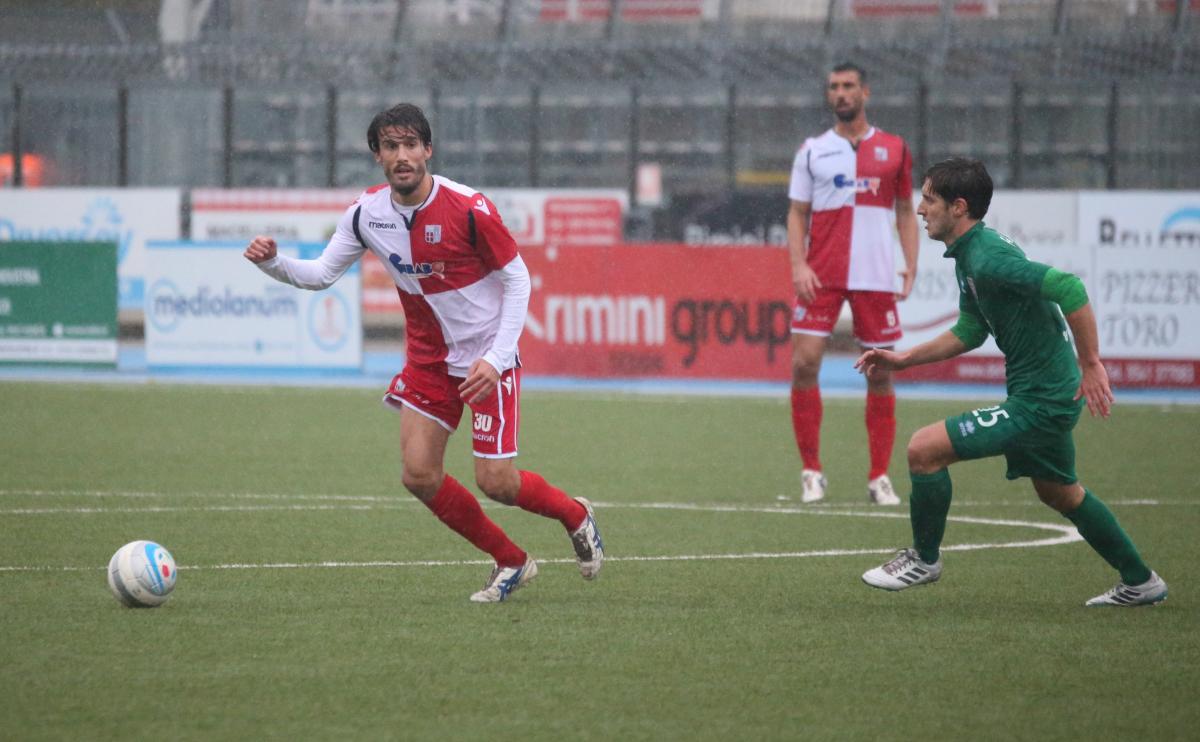Calcio serie C, il Rimini perde Montanari per una giornata
