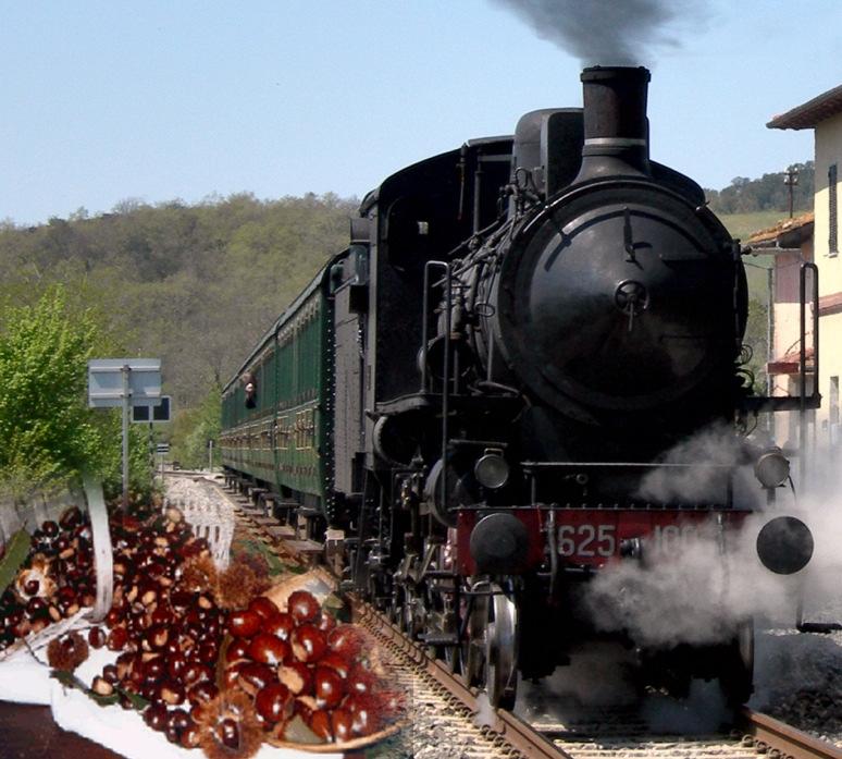 A Marradi torna la Sagra delle Castagne. Riproposto il treno a vapore