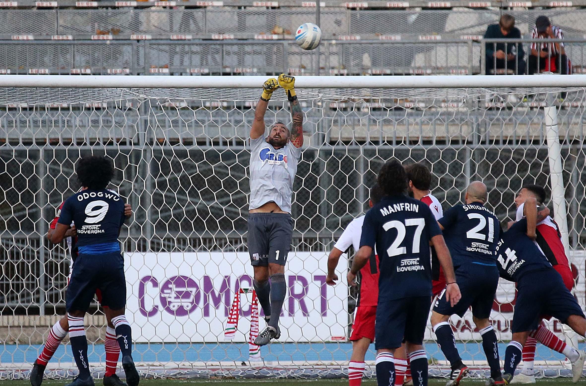 Calcio serie C, il Rimini strappa un punto a Fano