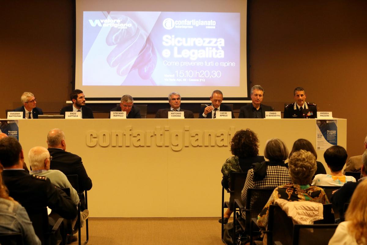 Cesena: prefetto, questore e sindaco a confronto con le imprese