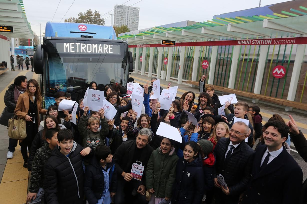 Rimini. Metromare, sabato inaugurazione con il ministro