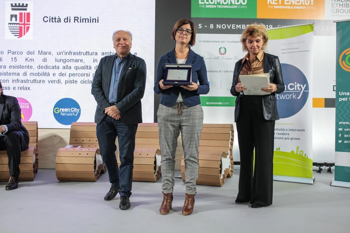 Rimini  Green City: il progetto Parco del Mare premiato a Ecomondo