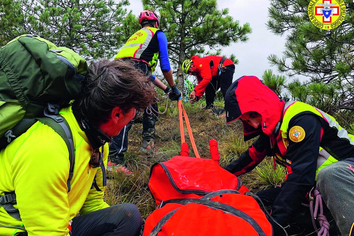 Brisighella, cade durante il trial: salvata dal soccorso alpino