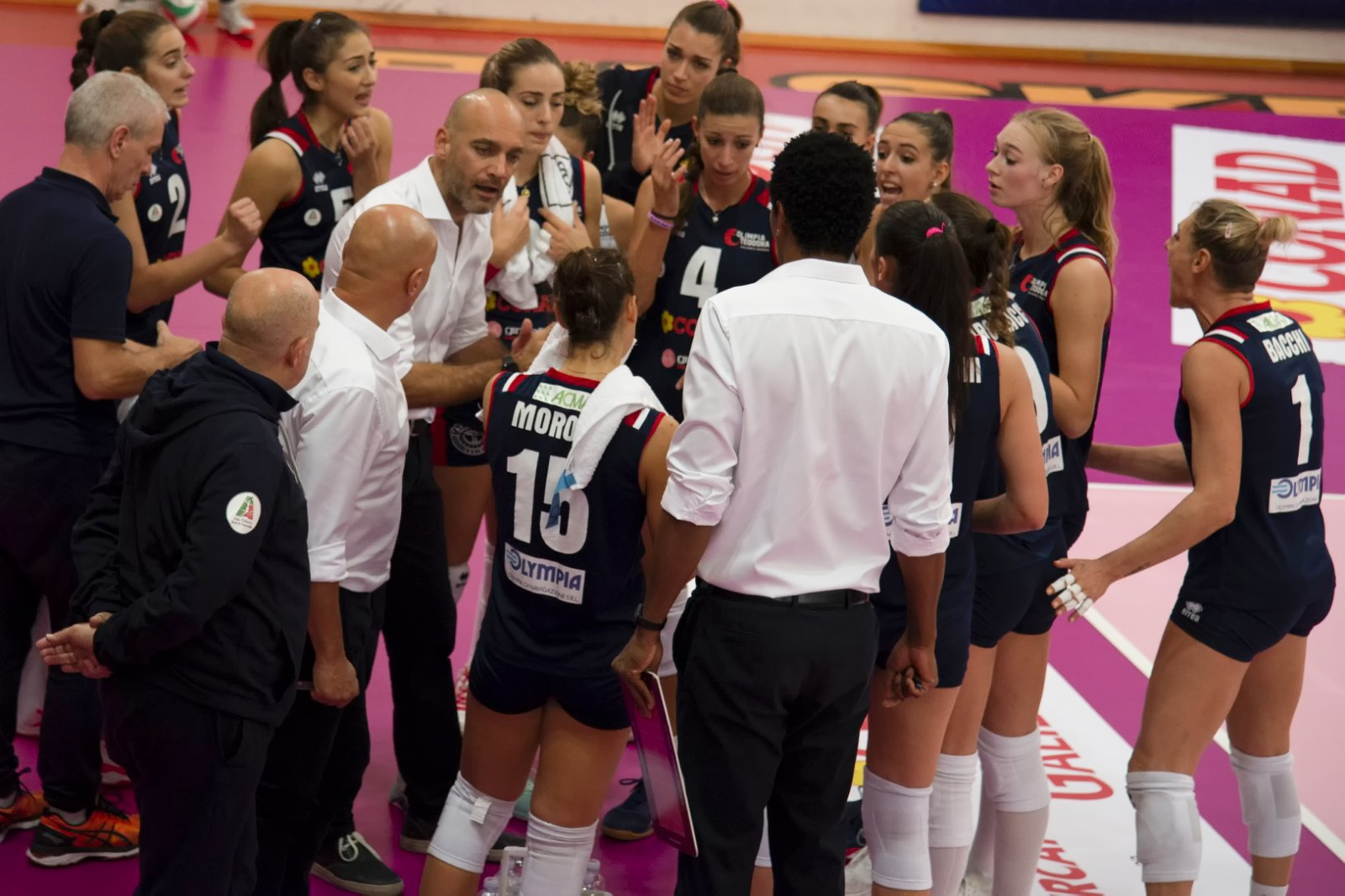 Volley femminile, anticipata di un'ora la sfida dell'Olimpia Teodora