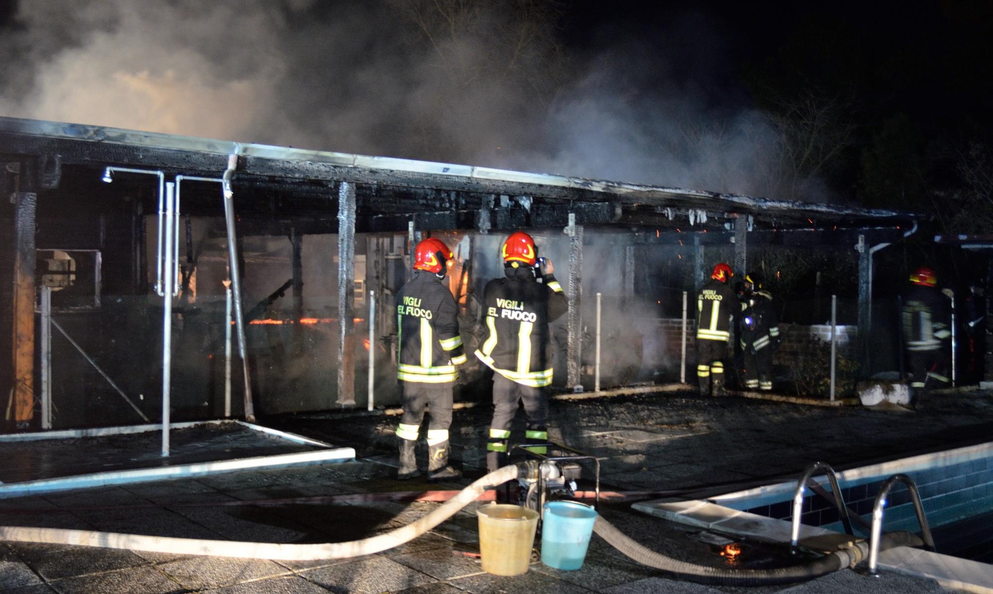 Ravenna. Aggredì carabinieri durante l'incendio: a processo