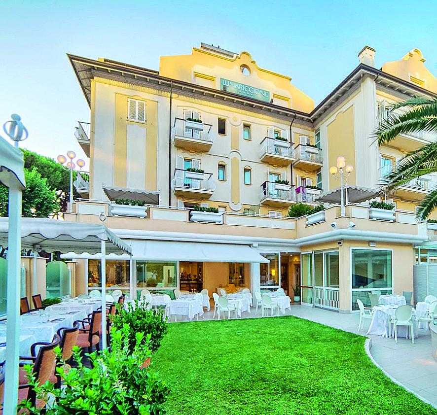 L'hotel Luna di Riccione all'asta per 5 milioni di euro
