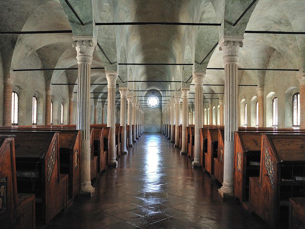 I codici di  d'Angiò e   Malatesta alla Malatestiana di Cesena