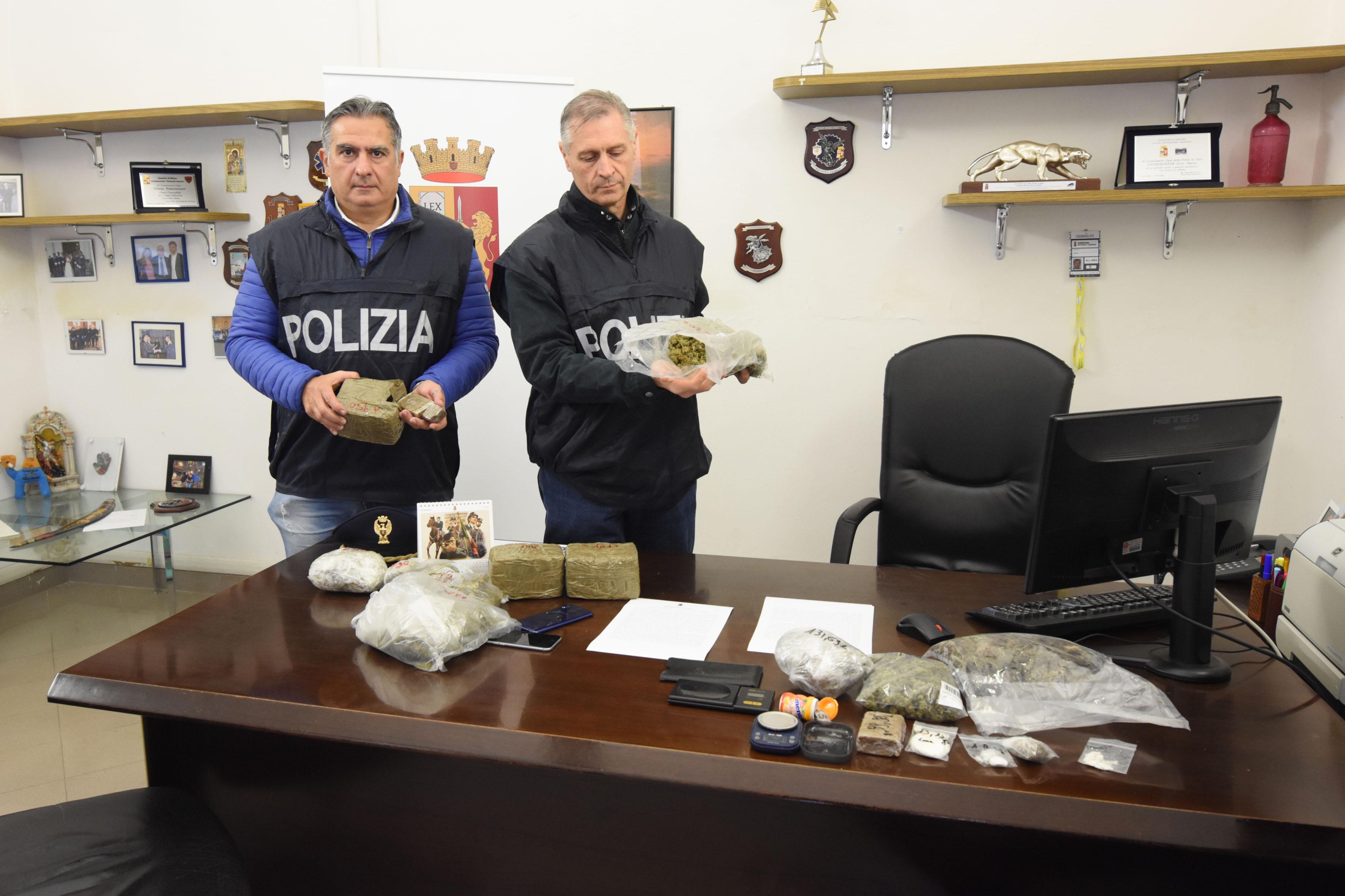 Spaccio di droga, due arresti tra Faenza e Forlimpopoli