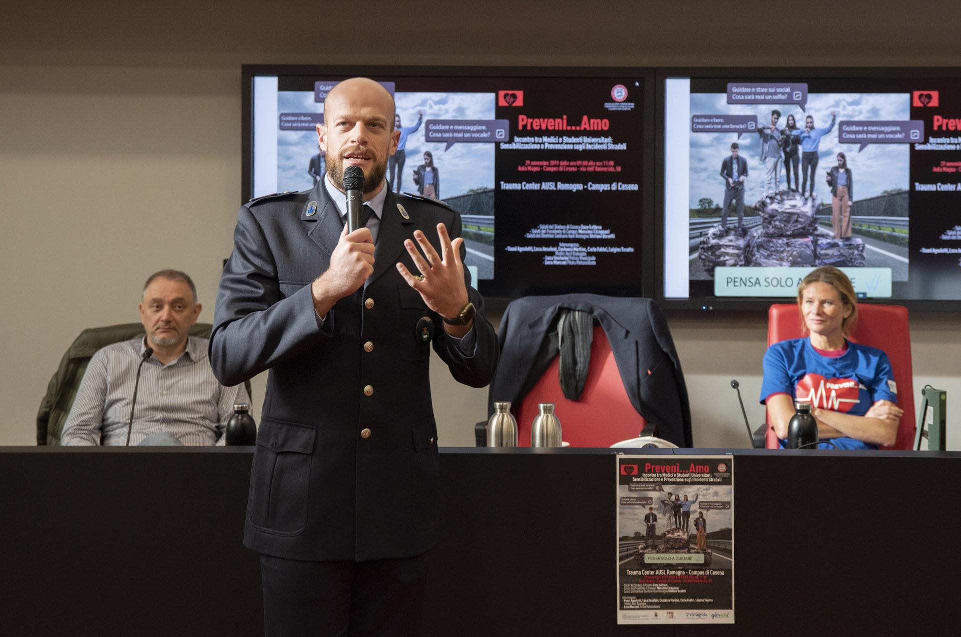 Cesena, incontro all'Università sulla sicurezza stradale