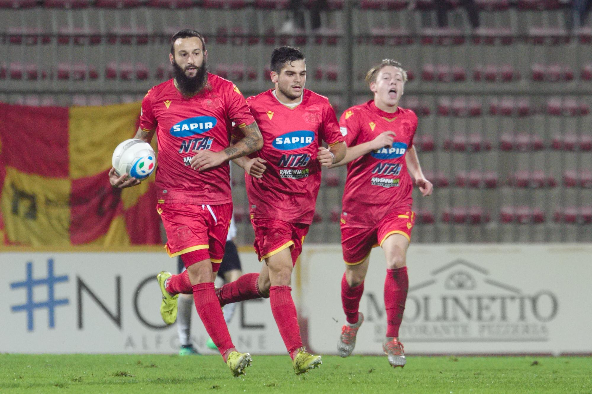 Calcio, Ravenna cade in casa con la Feralpi Salò