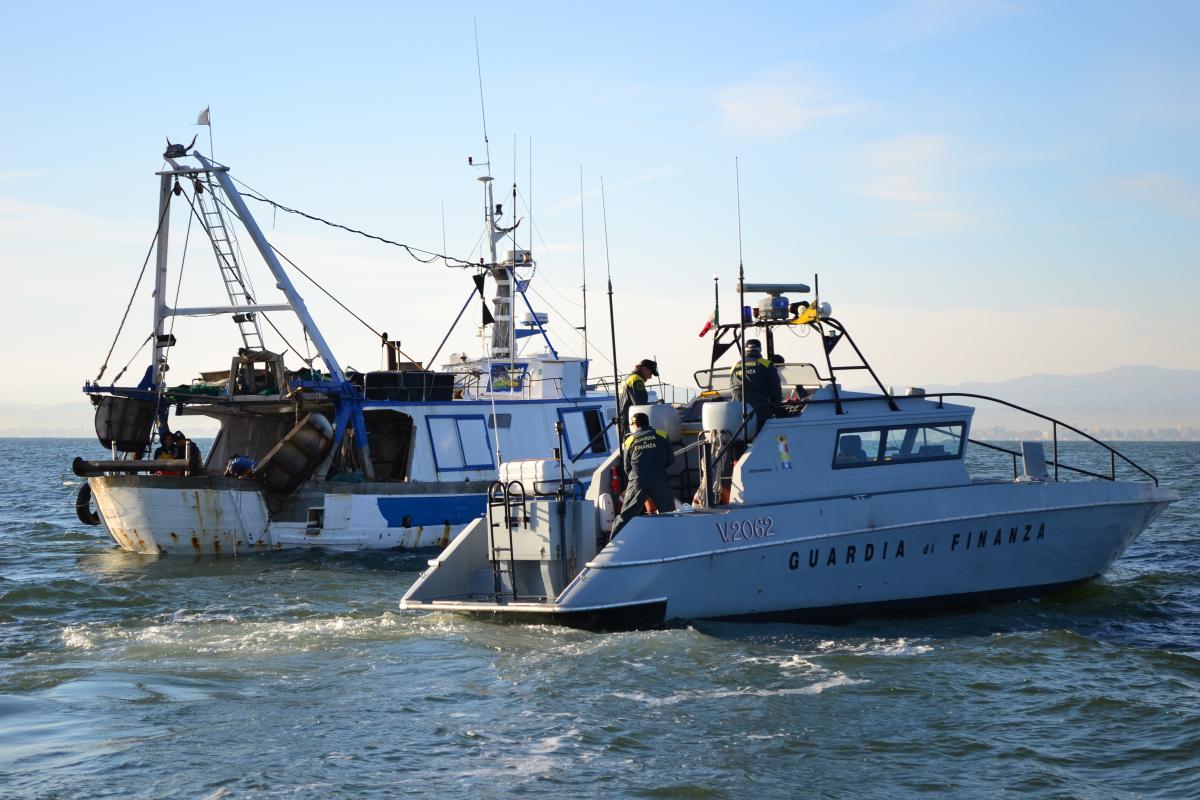 Rimini, controlli e lotta al nero nell'ambito della pesca