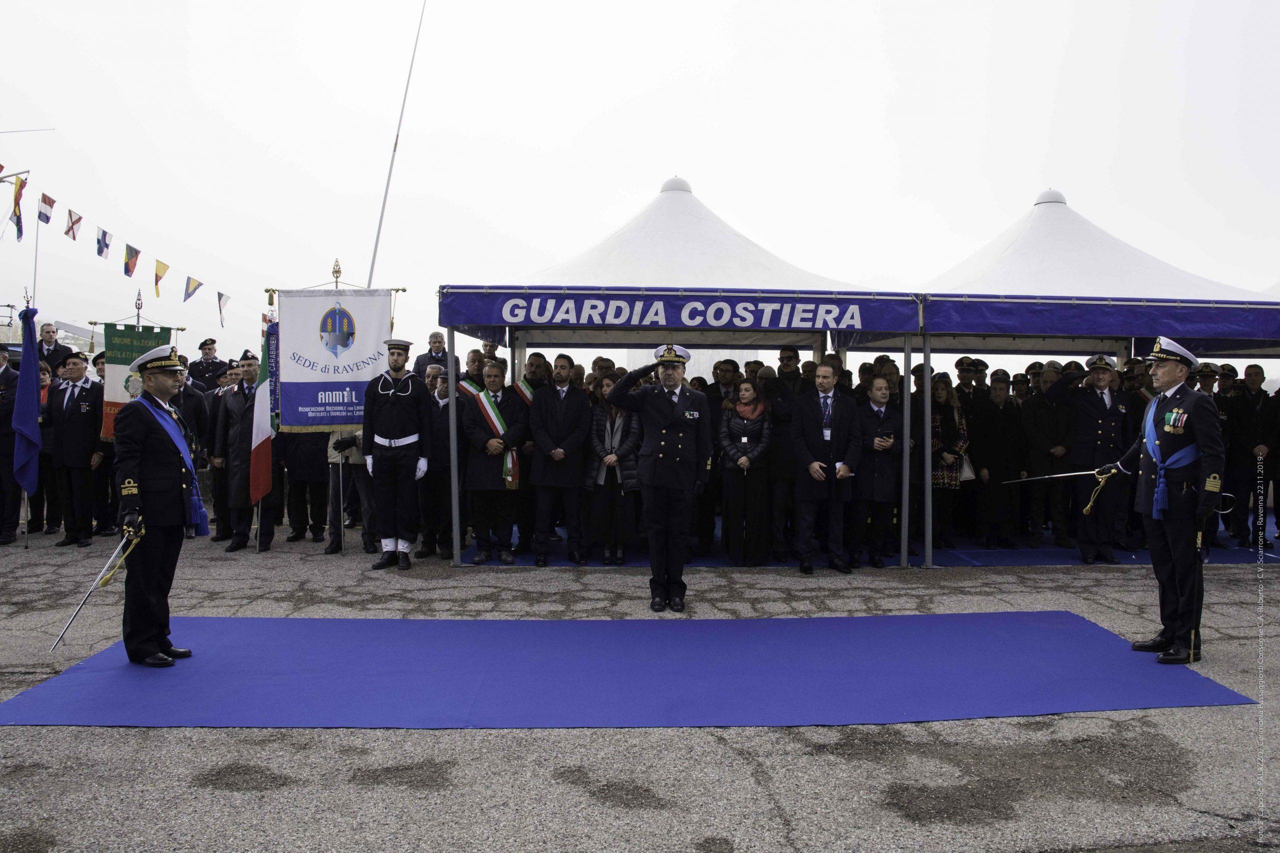 Cambio della guardia in Capitaneria a Ravenna: insediato Sciarrone