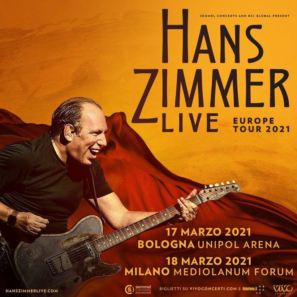 Concerti: Hans Zimmer dal vivo a Bologna, i biglietti