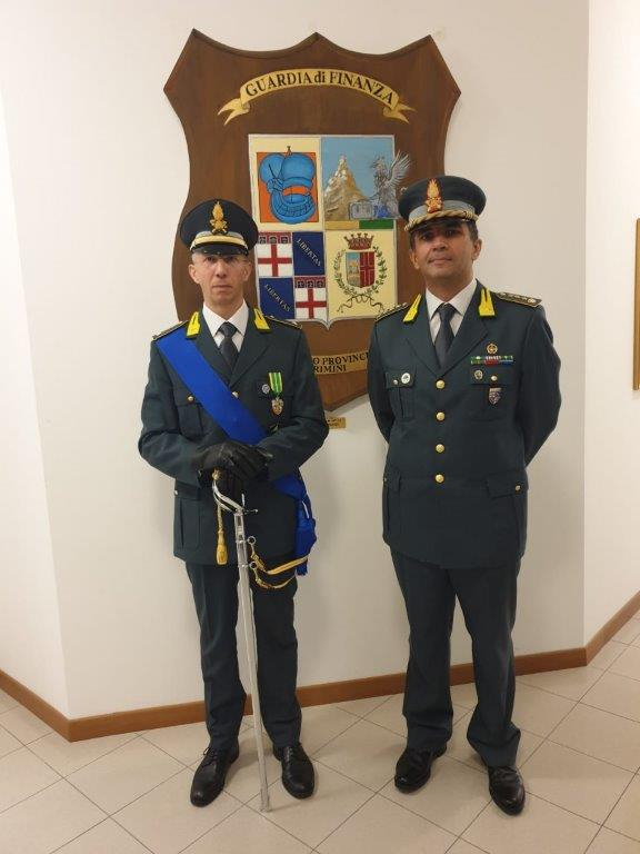 Rimini, insediato neo comandante del gruppo finanza pubblica Gdf