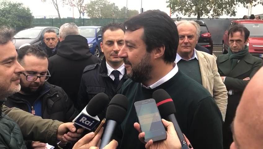 """Salvini in visita alla Orogel di Cesena """"Esempio di cooperazione sana"""""""