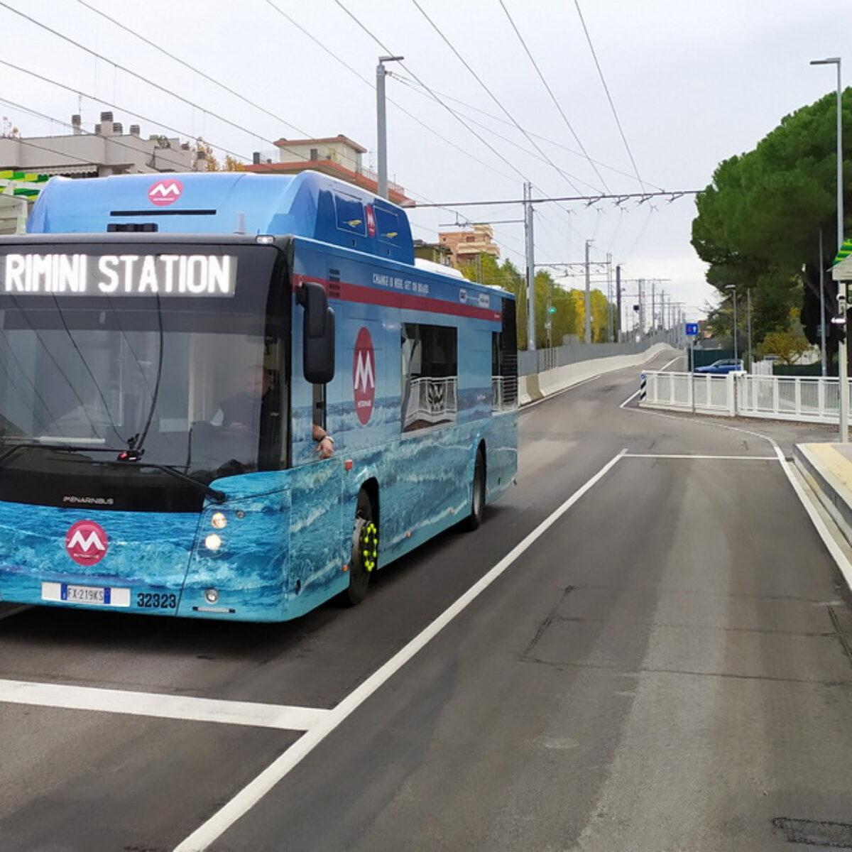 Rimini Metromare, pronta la linea parte il collaudo
