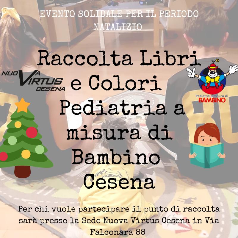 Cesena, dalla Nuova Virtus libri e giochi a Natale per Pediatria