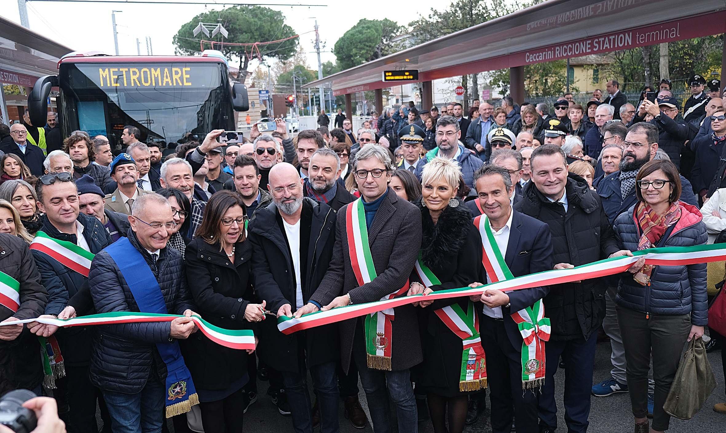"""Noi riccionesi: """"Il Metromare non arriverà mai a Cattolica"""""""