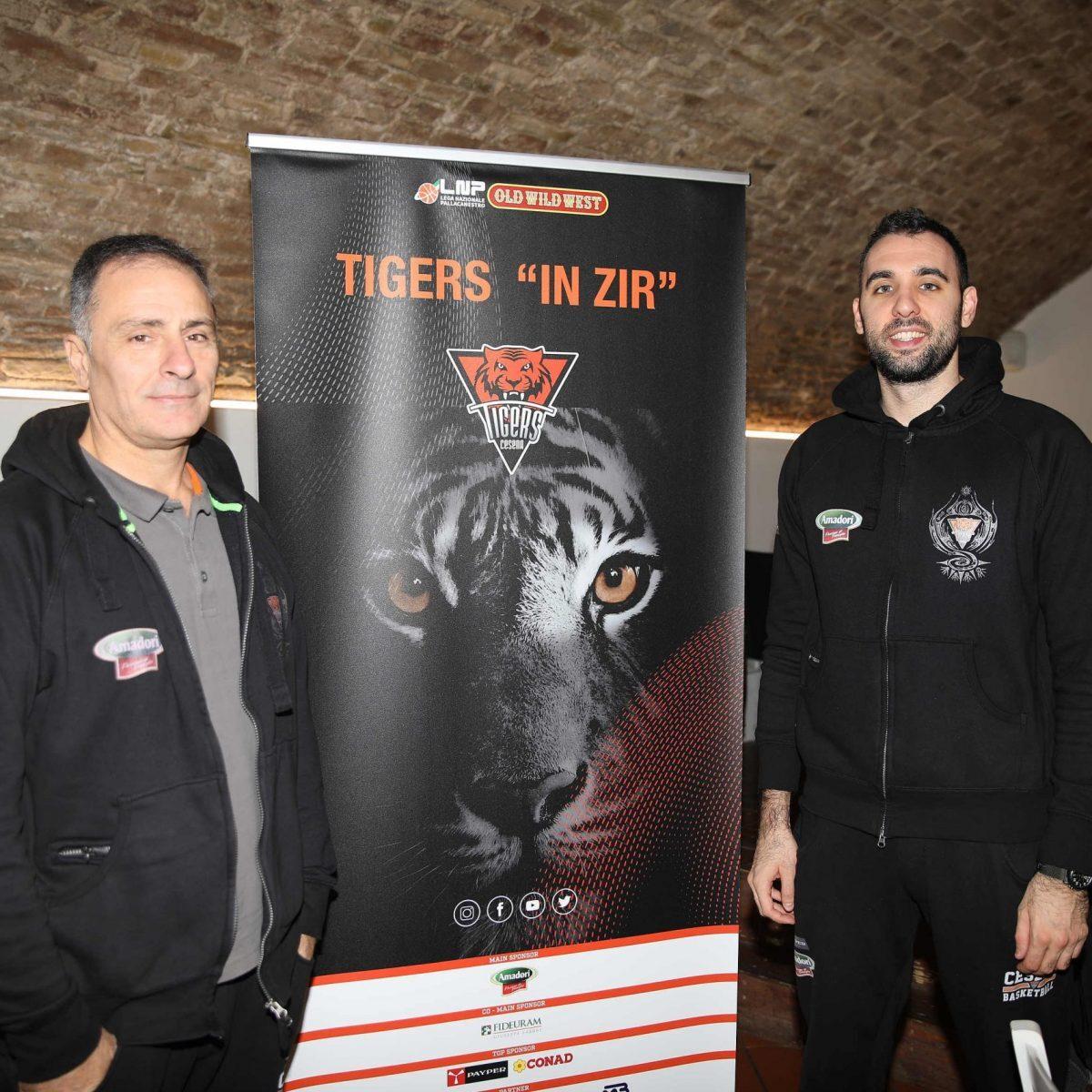 "Basket, ""Tigers in Zir"" per le strade di Cesena"