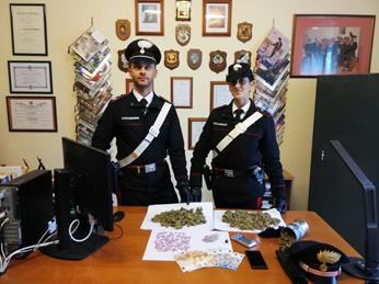 Grosso spacciatore di droga arrestato a Coriano