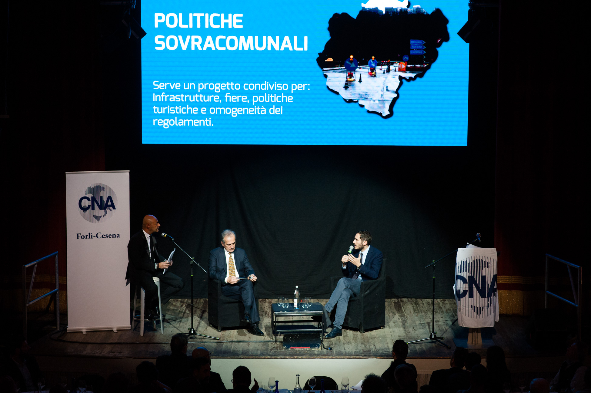 "I sindaci di Forlì e Cesena dalla Cna: ""No guerra, sintonia tra noi"""
