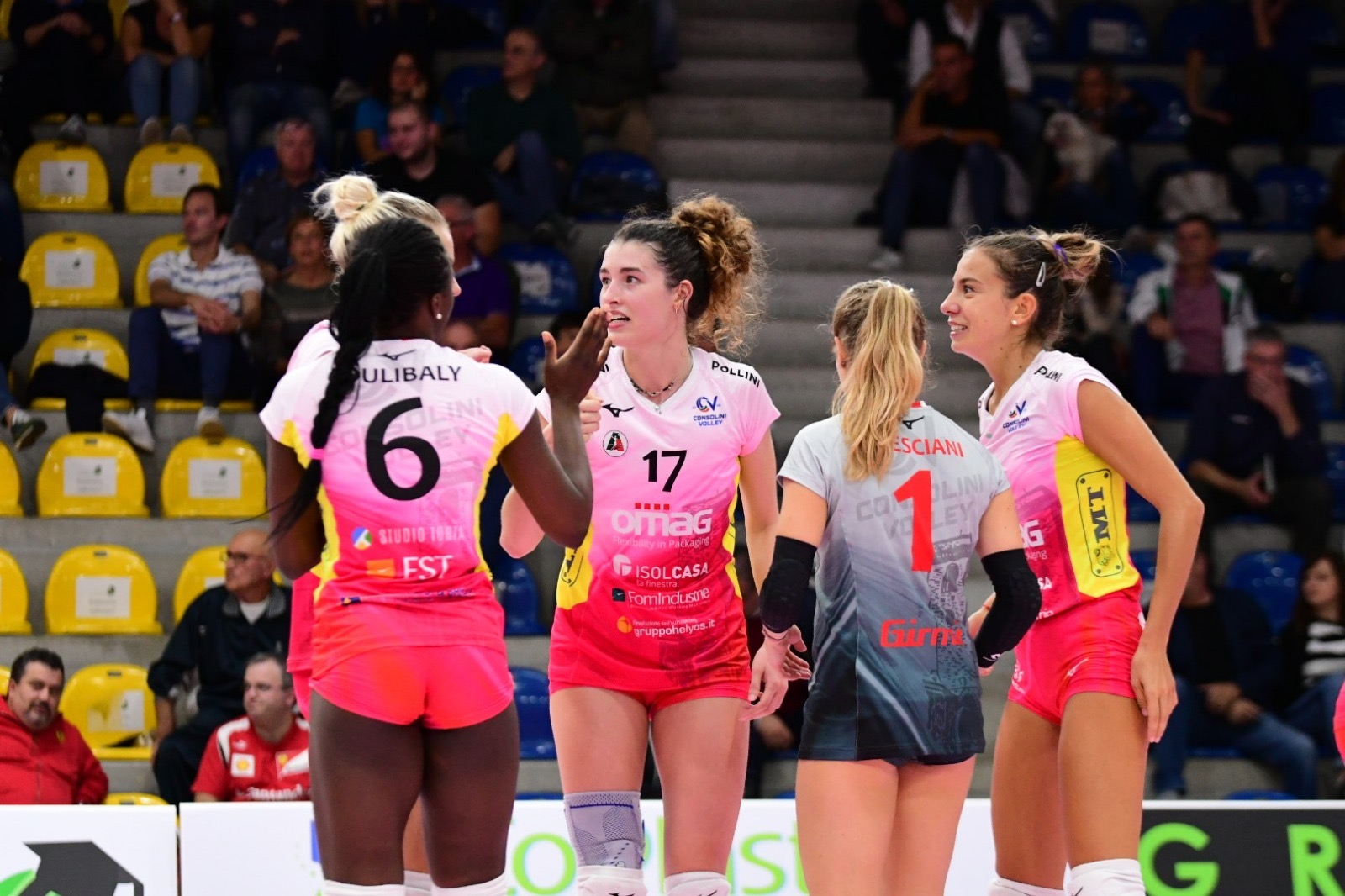 Volley donne, Omag: aria di big-match