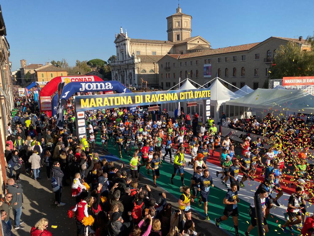 Podismo, che successo per la Maratona Ravenna Città d'Arte  -VIDEO