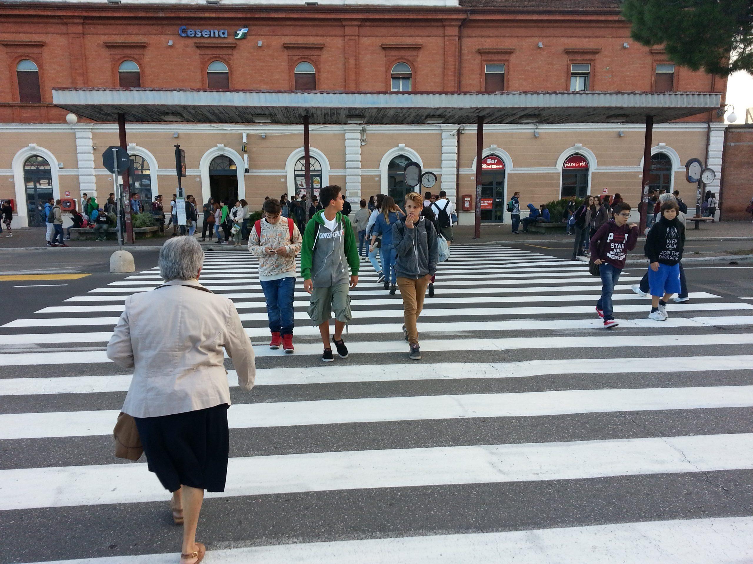 Al via lunedì i lavori davanti alla stazione ferroviaria di Cesena