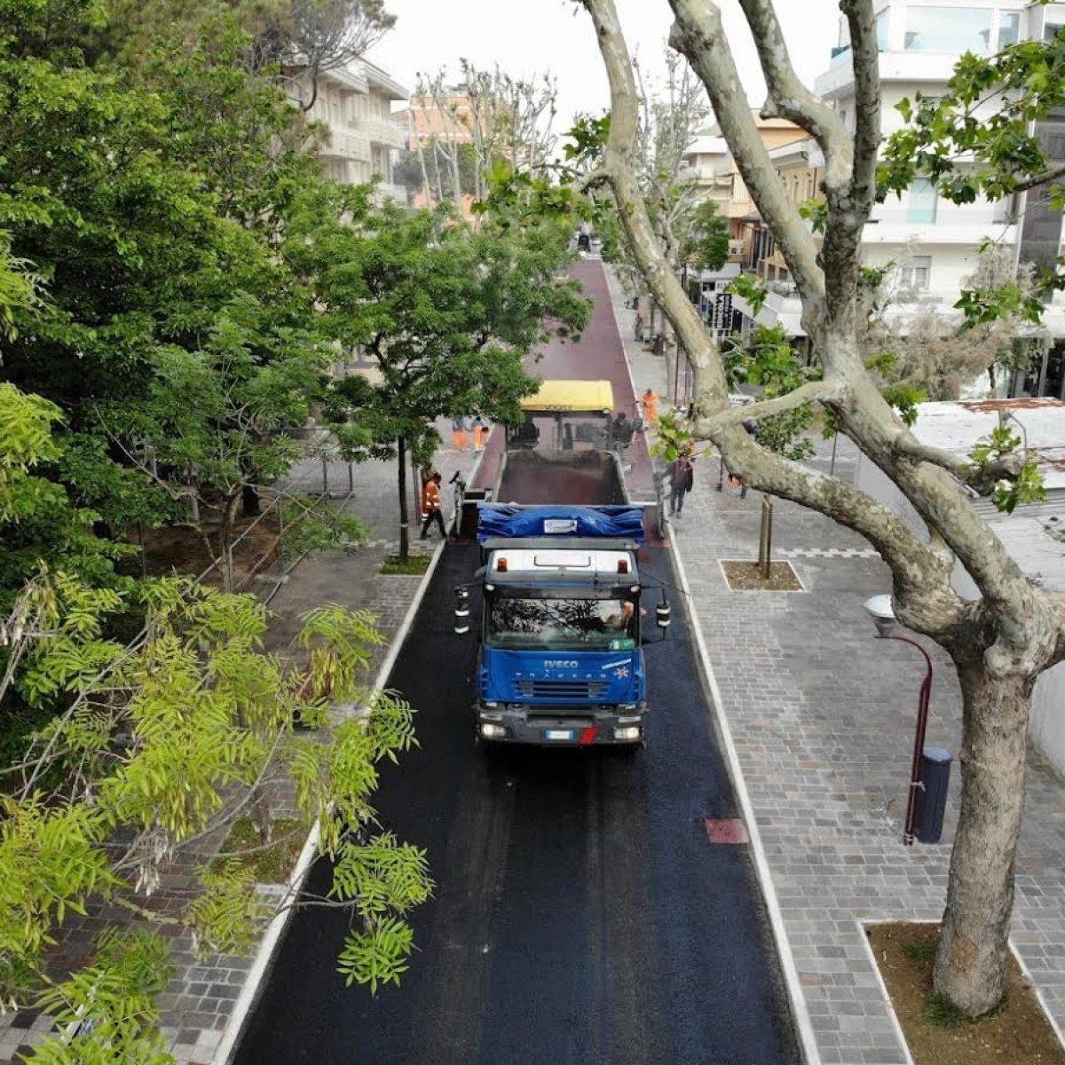 Misano. Arredo urbano e asfalti, lavori per 300mila euro