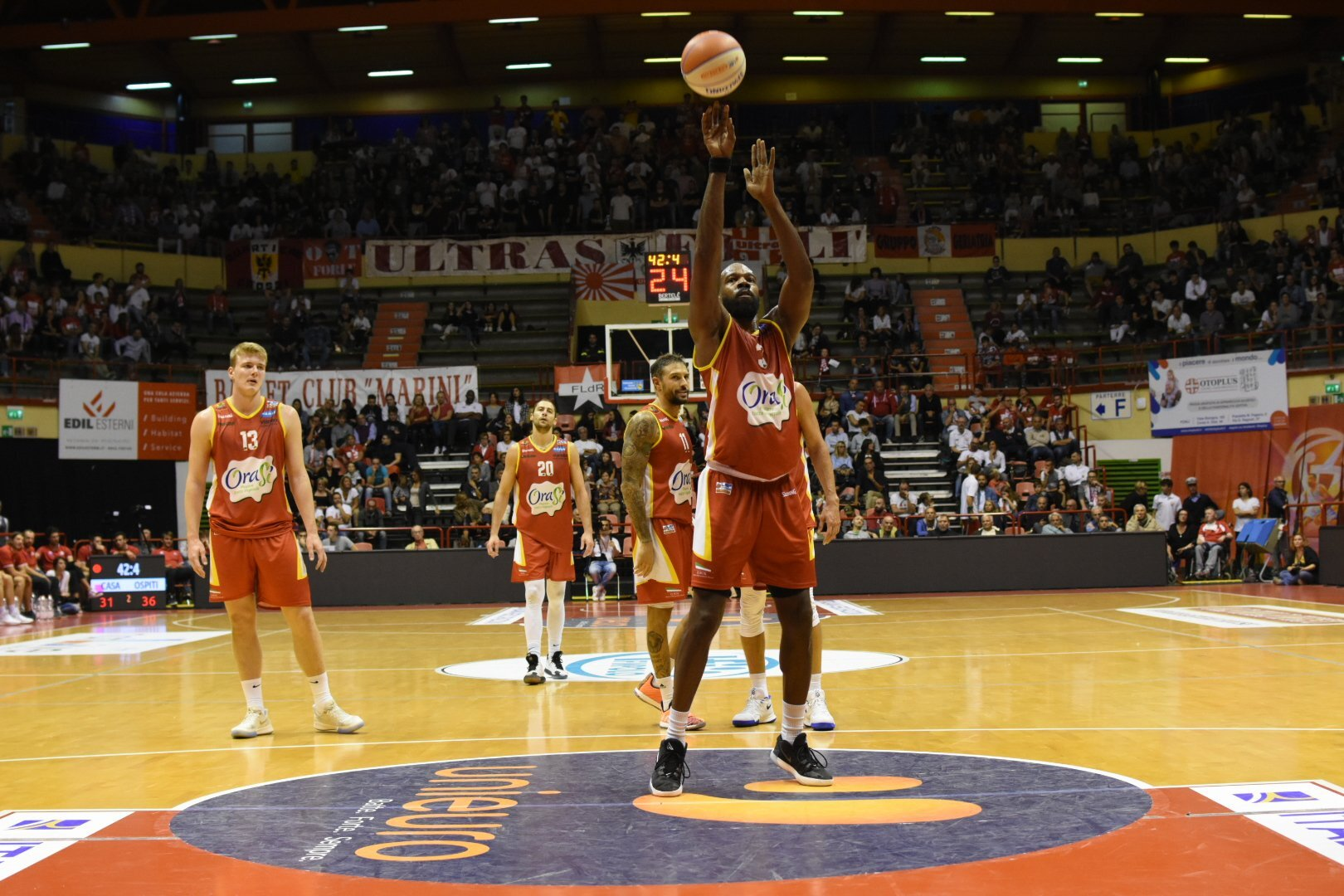 Basket, la prevendita a Ravenna per OraSì-Unieuro
