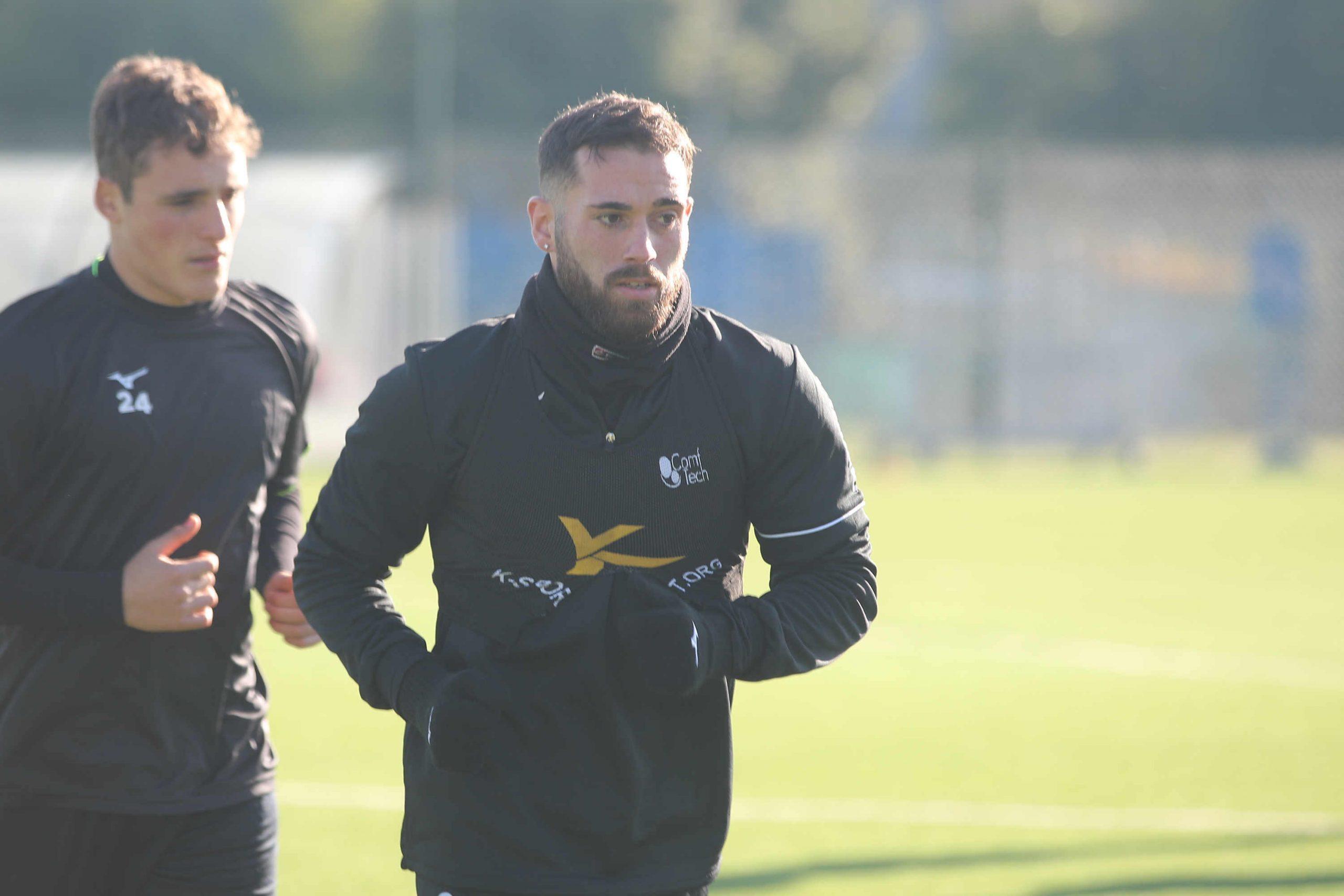 Calcio, il primo allenamento di Giuseppe Zampano a Cesena