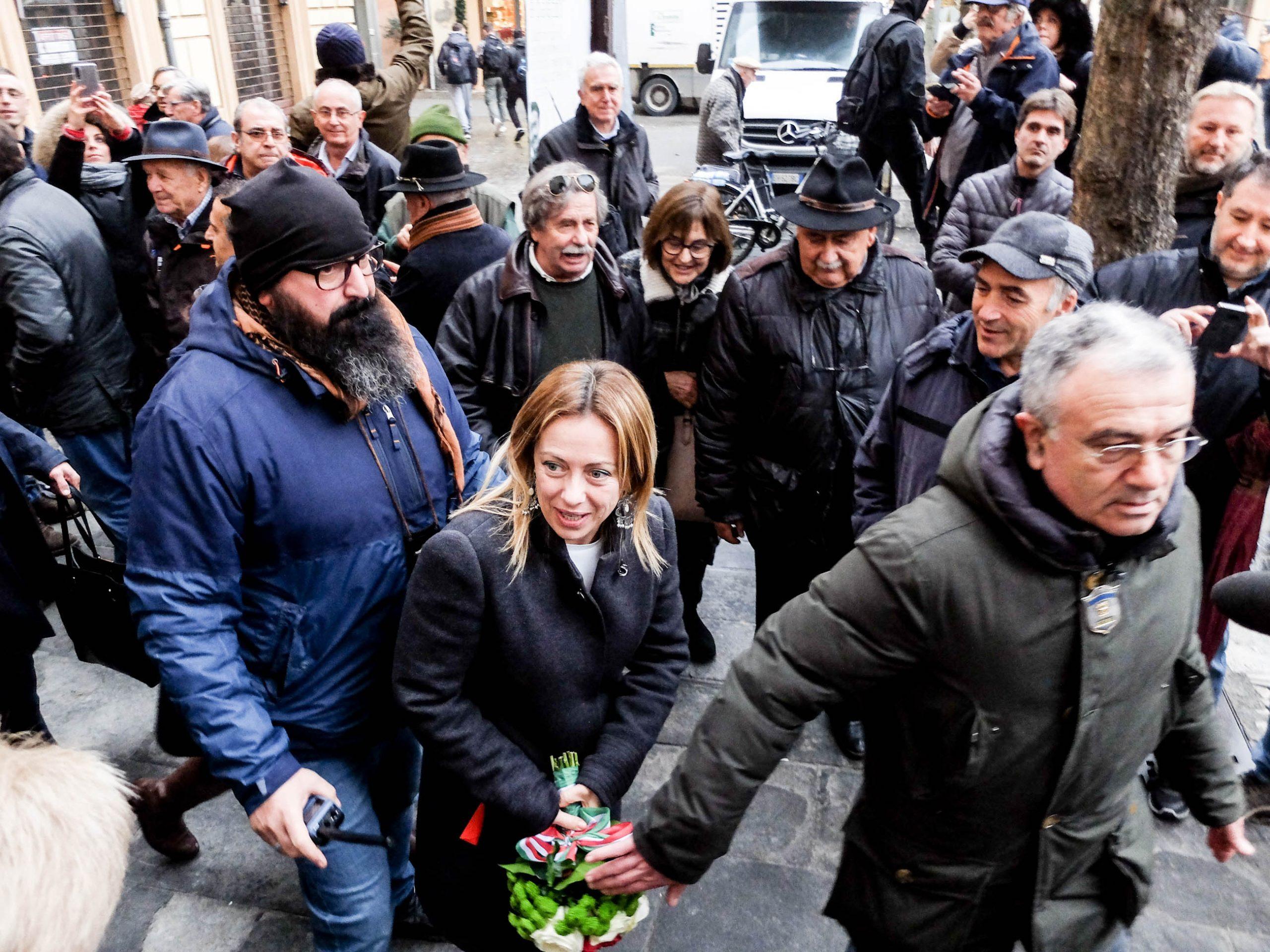Imola, la visita di Giorgia Meloni