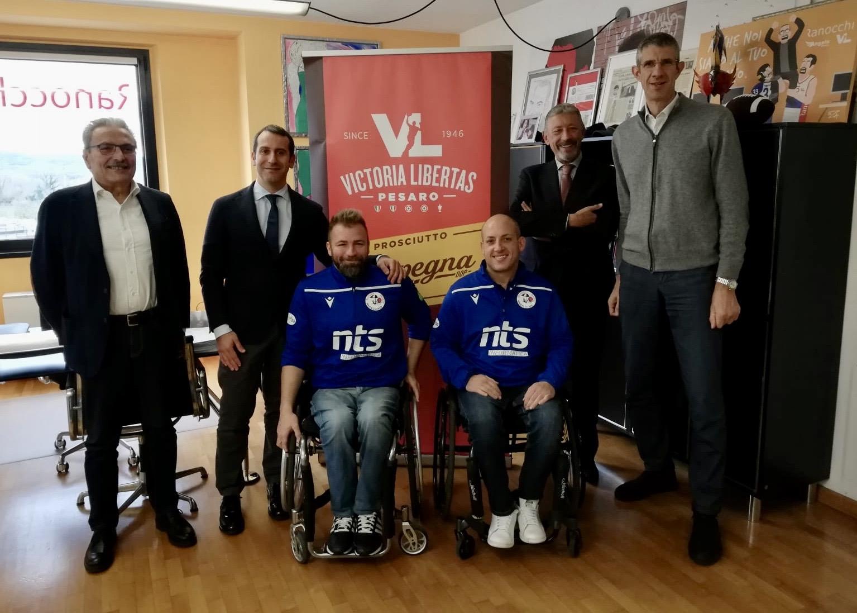 "Basket in carrozzina, ""derby"" tra Pesaro e Rimini per i disabili"