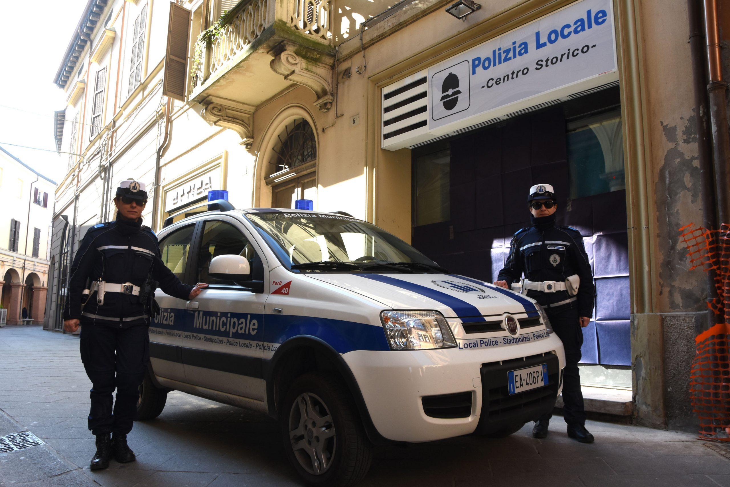 Polizia Locale, i servizi per il Capodanno a Forlì