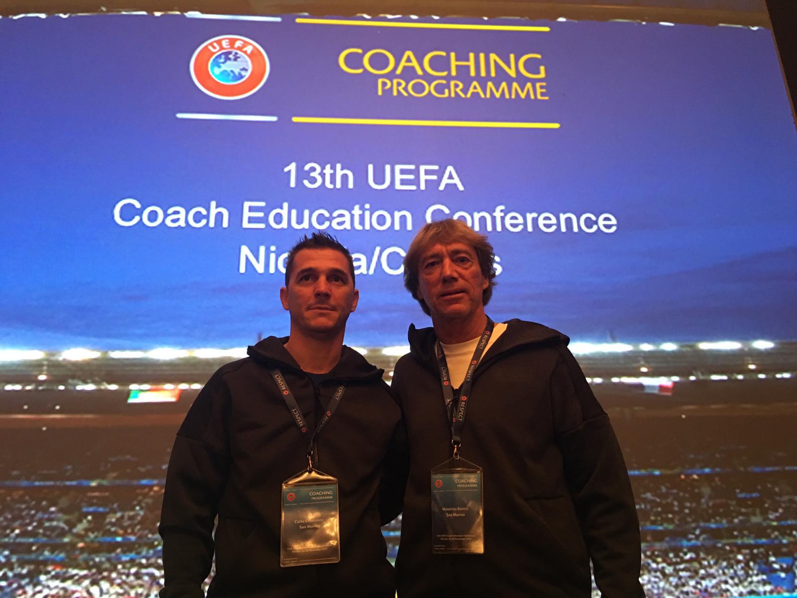 Calcio, San Marino alla Coach Education Conference