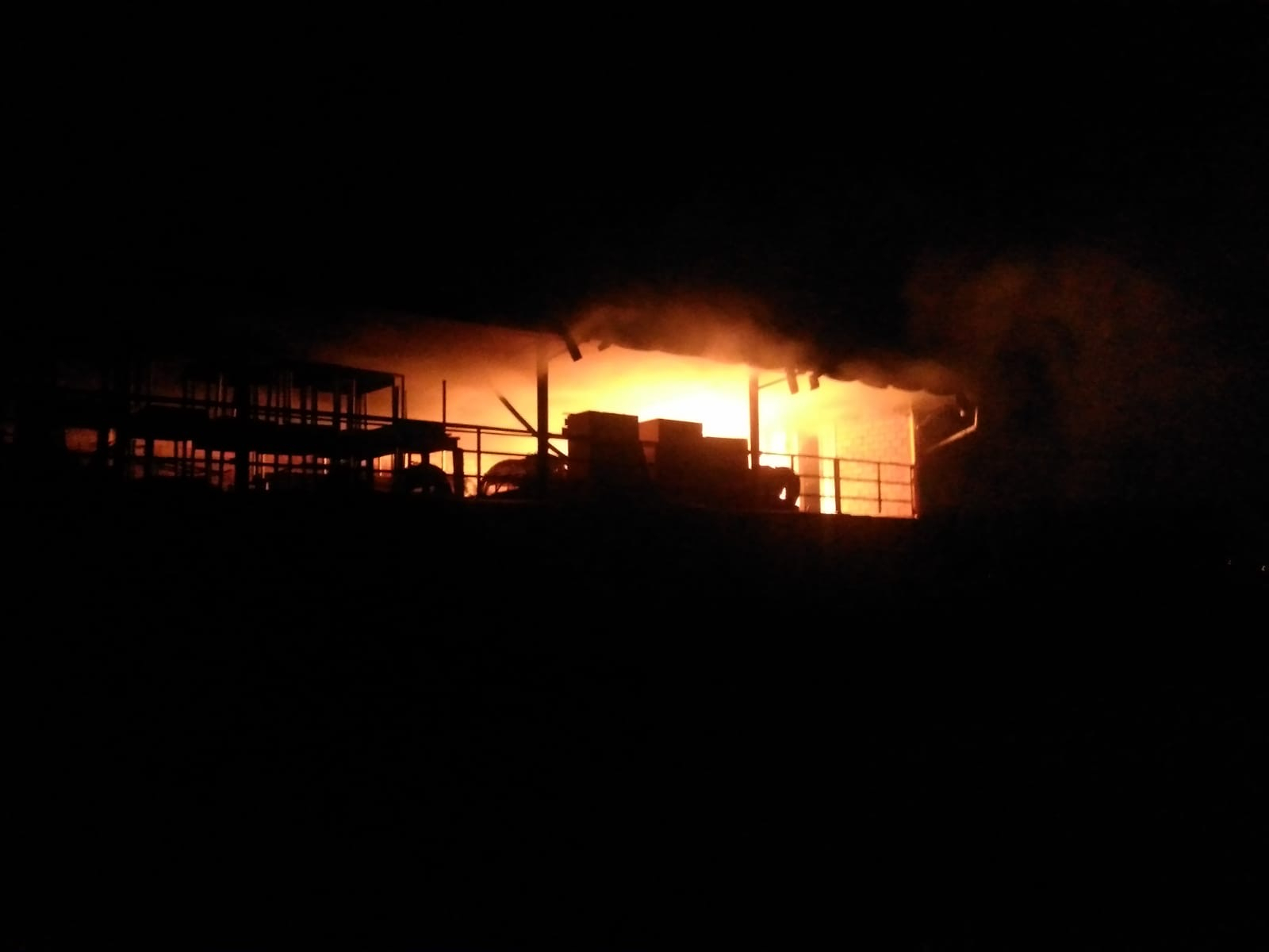 Incendio alla scuola Agraria di Cesena