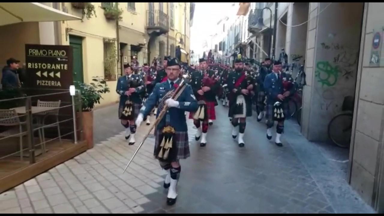 Dal Canada a Ravenna per la Liberazione. Corteo in musica - VIDEO