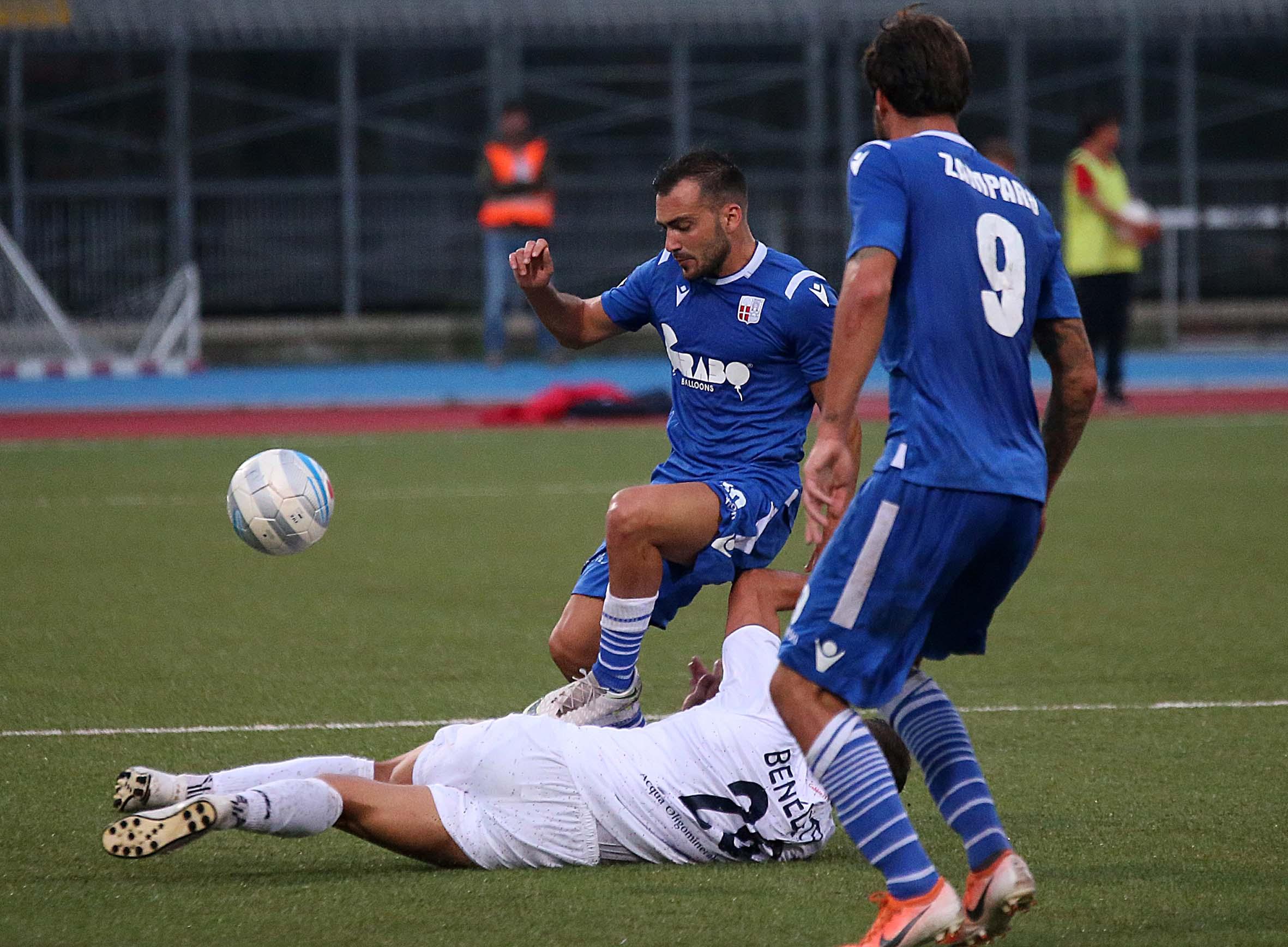Calcio C, il Rimini ritrova Candido e Oliana