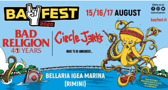 Ferragosto punk a Bellaria. Al Bay Fest, Bad Religion e Circle Jerks