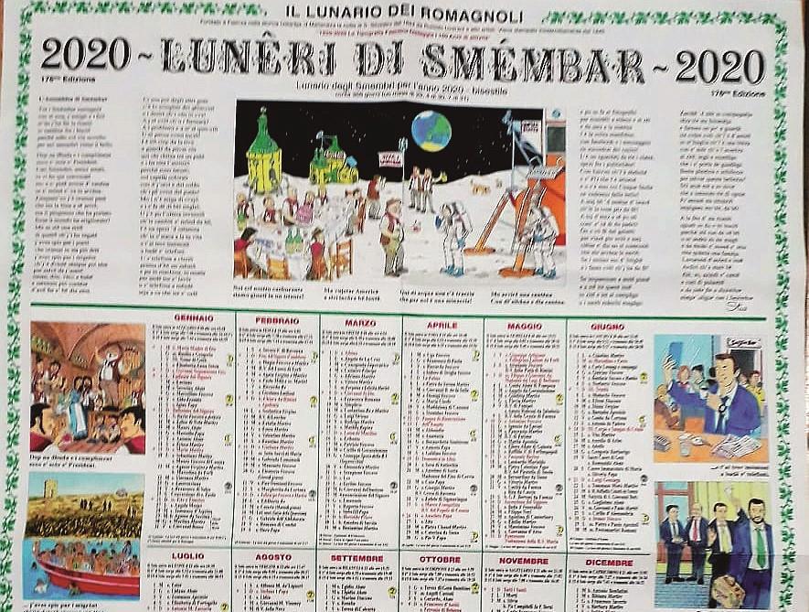 Faenza, ecco il Lunêri di Smémbar. L'annuario romagnolo dal 1845