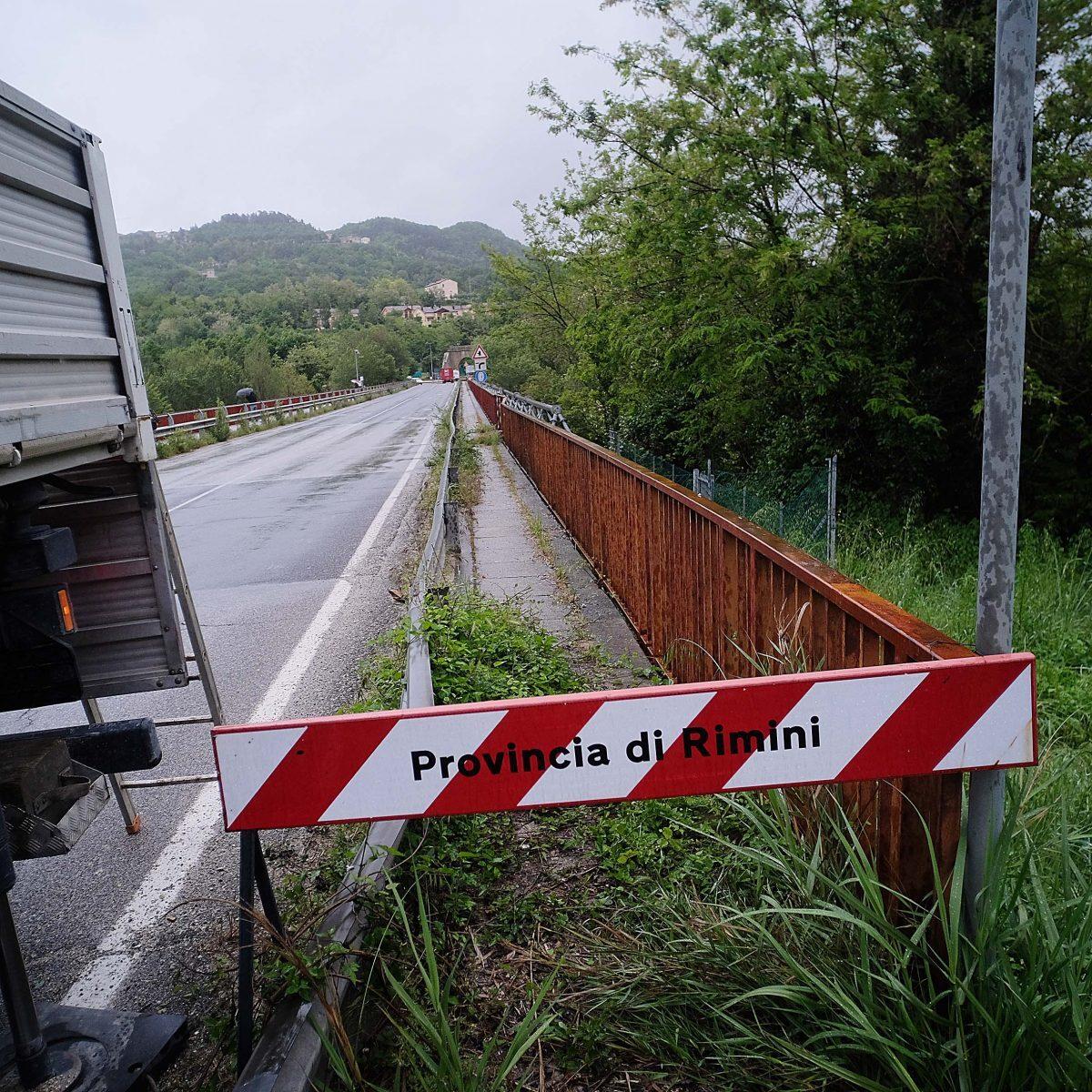 """Il Ponte Verucchio resta chiuso. """"Non può tornare operativo"""""""