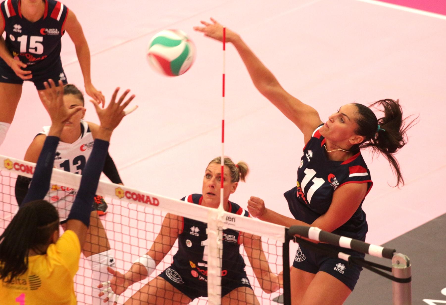 Volley A2 donne, Teodora Ravenna all'esame della capolista