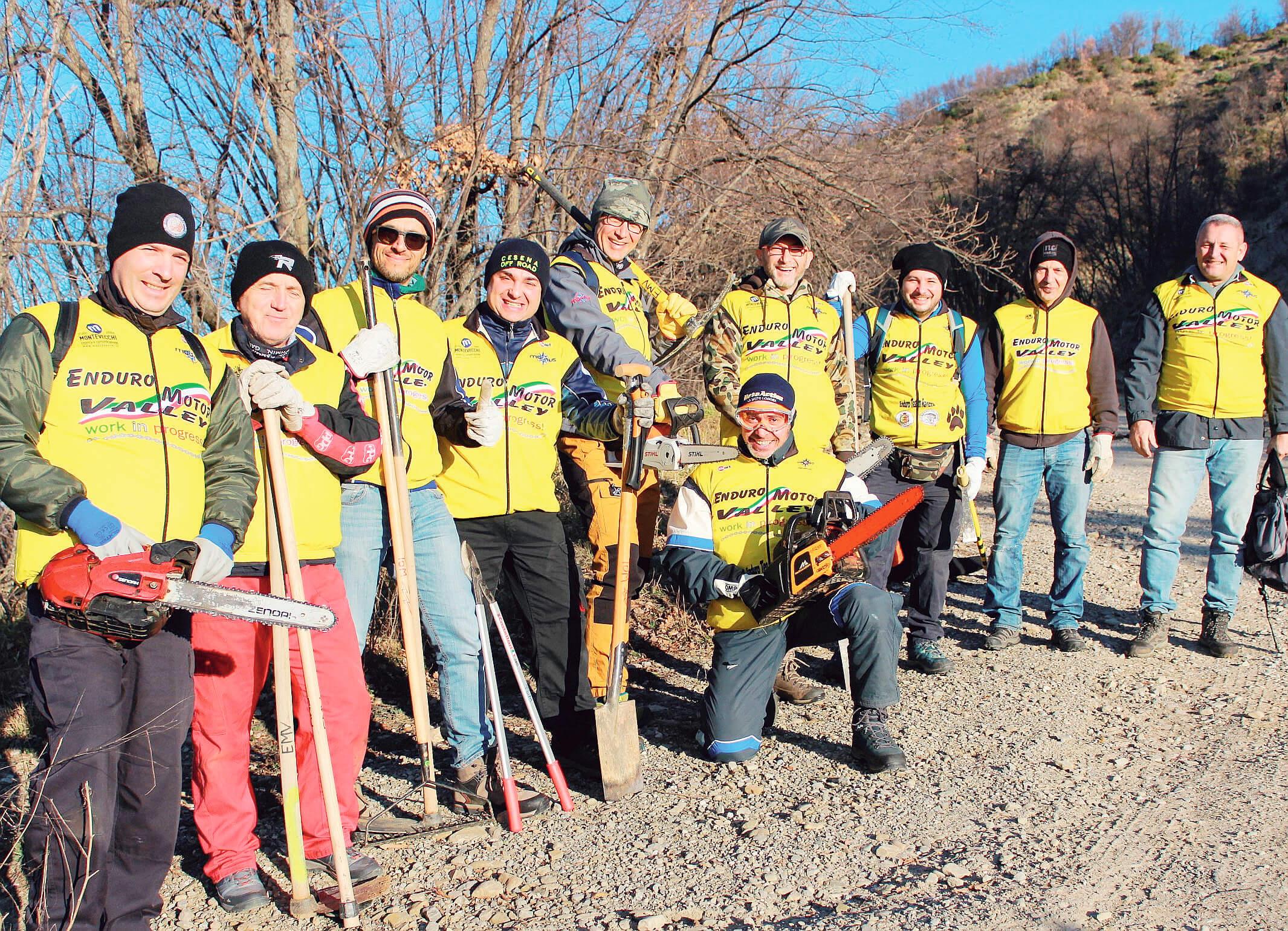 Enduro Motor Valley recupera i sentieri dell'Appennino