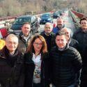 Ponte Verucchio riaperto alle auto «Ora pensiamo agli scuolabus»