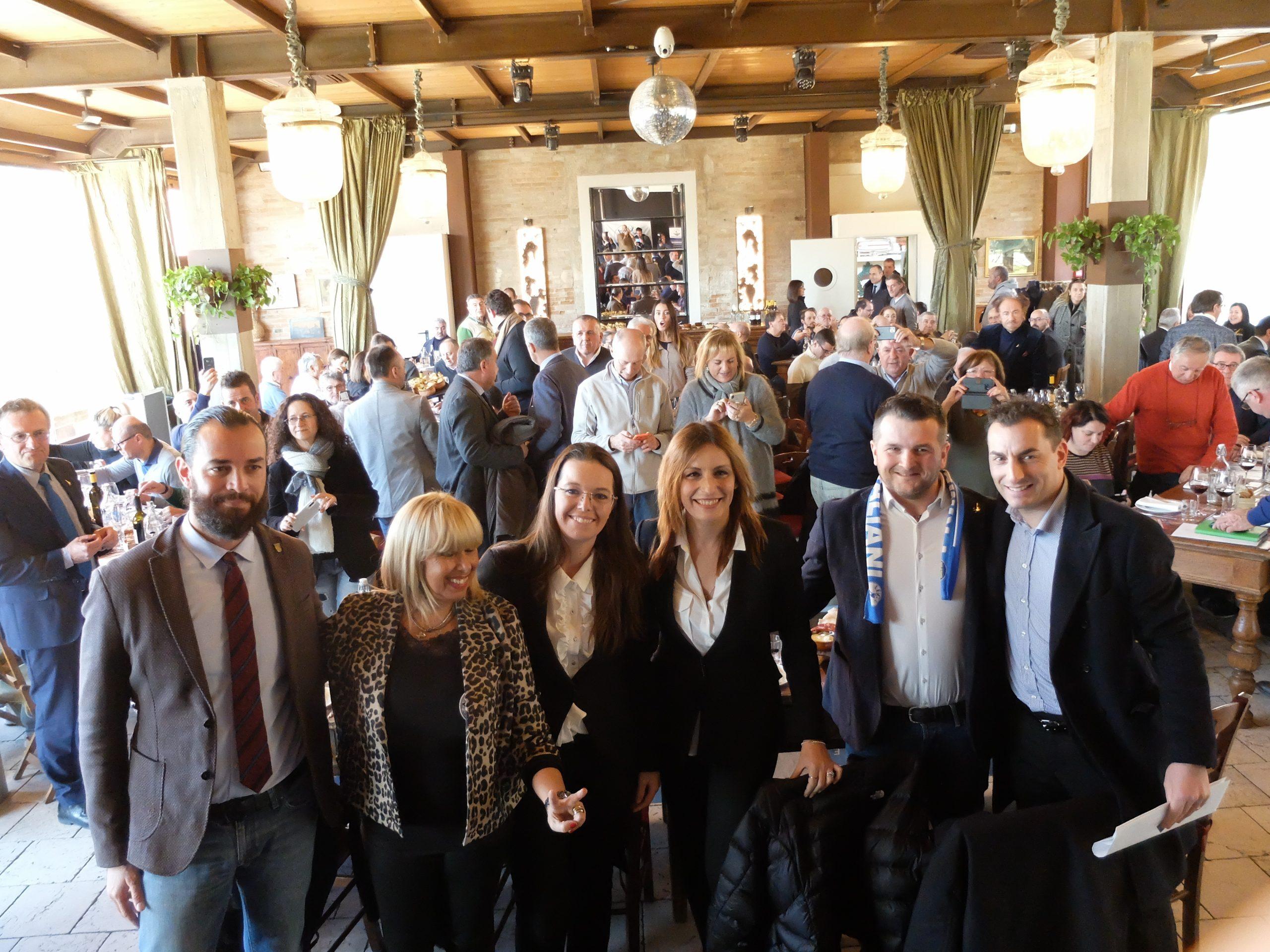 Lucia Borgonzoni a Faenza, le foto della tappa elettorale