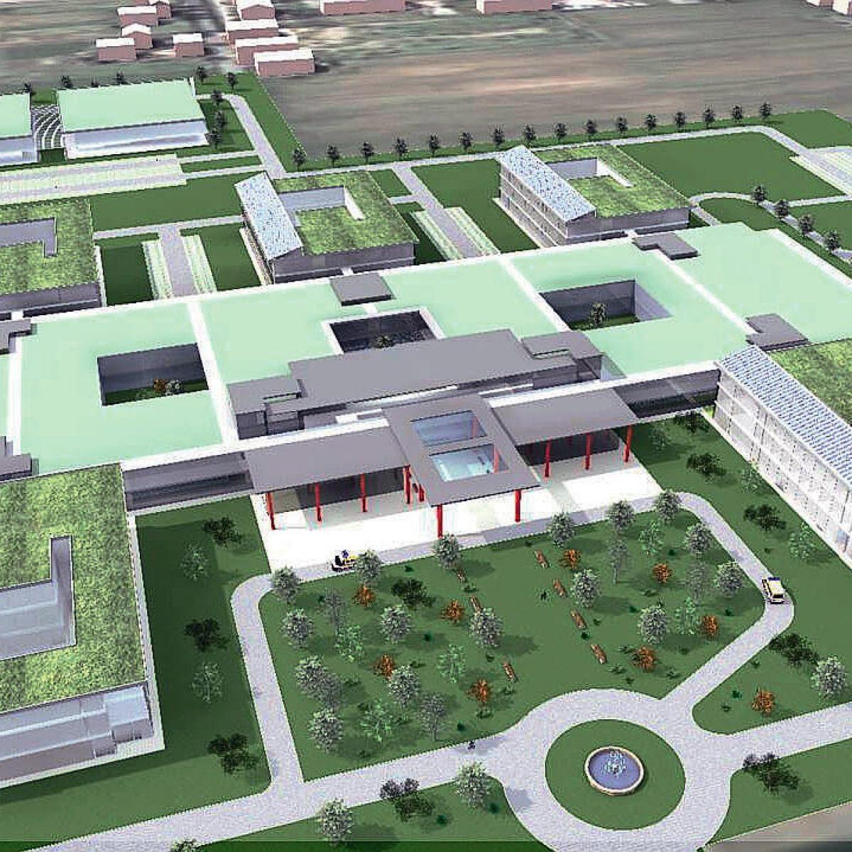 Progetto nuovo ospedale a Cesena, appalto a costi dimezzati